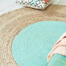 magic carpet teal round rug black living room oval area rugs ...