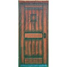 78 x 36 bamboo beaded curtain door motif room divider