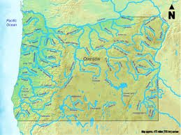 Clickable Map Of All Oregon Streams More Than 50 Miles 80