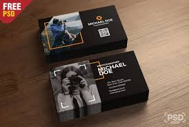 Photography Business Cards Template Psd Psd Zone