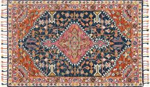 area rugs jovany hand hooked navy pink area rug