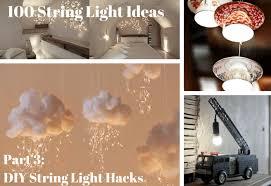 100 String Light Ideas - DIY Hacks