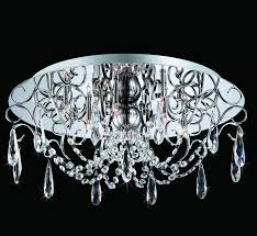 alto collection 19 5 dia large crystal flush mount ceiling light