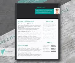 Modern Resume Graphic Design Modern Resume Design Freebie Stylish Header Freesumes