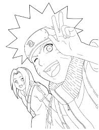 Naruto Coloring Pages Printable Coloring Book Luxurious Coloring