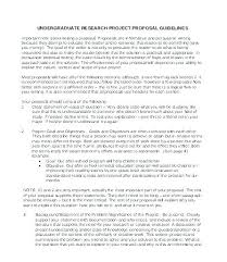 Apa Format Research Proposal Template Edition Skincense Co