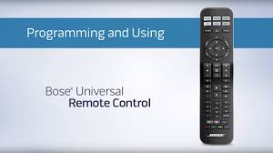 bose remote control. how to program and use your bose cinemate universal remote control - youtube d