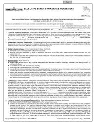 Permalink to Brokerage Agreement Sample / Exclusive Buyer Brokerage Agreement Youtube : This brokerage agreement (the agreement) is made and entered into by and between.
