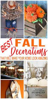 diy fall decorations easy outdoor home decor diy fall craft ideas