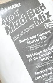 pro tip the average sized shower base requires 3 4 bags of mud mix