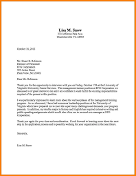 8 Thank You Interview Letter Informal Letters