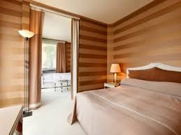 Painting For Bedroom Elegant Brown Stripes Painting For Zen Inspired Bedroom Decor With
