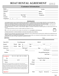 free lease agreement forms to print excellent boat rental agreement template with blank form of
