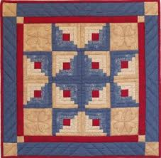"Log Cabin Star Wallhanging Quilt Kit 22"" x 22"" - The National ... & Log Cabin Star Wallhanging Quilt Kit 22"" x 22"" - The National Quilt Museum Adamdwight.com"