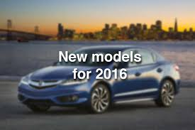 new car 2016 modelsPhotos All the new cars for 2016  Times Union