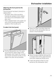 miele dishwasher installation. Modren Dishwasher Dishwasher Installation  Miele G 879 SCVI User Manual Page 59  76 On Installation L