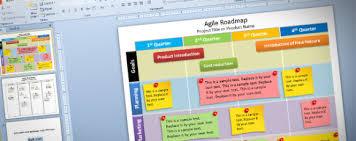 roadmap templates excel free editable agile roadmap powerpoint template