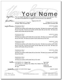 Resume Layout Example Best The Layout Of A Resume Funfpandroidco
