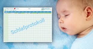 Kostenloses Schlafprotokoll Für Dein Baby Zum Download