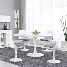 image is loading modway lippa 60 034 round dining table in