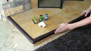 installation guide edge and corner guards by linden tree baby fireplace