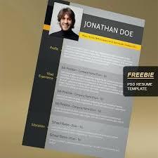 Creative Resume Template Free Download Fresh 19 Fresh Free Graphic