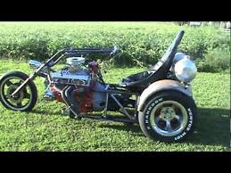 Mac Motor Toys The prototype V8 Trike - YouTube