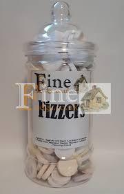 giant fizzers in a gift jar from finefudge co uk