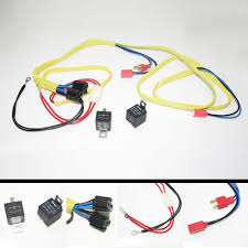 h7 headlight relay harness wire loom halogen ceramic heavy duty h7 headlight relay harness wire loom halogen ceramic heavy duty socket plug kit
