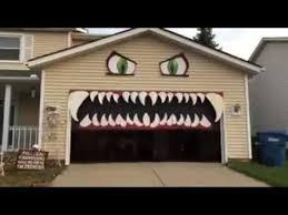 the garage doorBest 25 Halloween garage door ideas on Pinterest  Garage door
