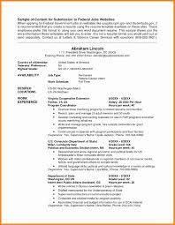 Usa Resume Sample Usa Jobs 3 Resume Format Resume Sample Resume Resume Templates