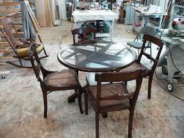 Glass Kitchen Tables Round Round Glass Kitchen Table Kitchen Bath Ideas Better Round