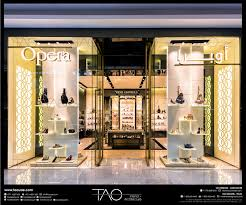 Small Picture Opera Shoes shop front in Dubai Mall By TAO Designs LLC