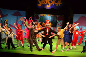Transporting audiences from the jungle of nool to the circus mcgurkus, the cat in the hat narrates the story of horton the elephant, who discovers a speck of dust containing tiny people called the whos. The Wonderful And Wacky World Of Seussical Jr The South Pasadenan South Pasadena News