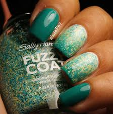 sinful colors rise shine. NailaDay: Sinful Colors Rise And Shine Gradient With Sally Hansen Fuzz-Sea