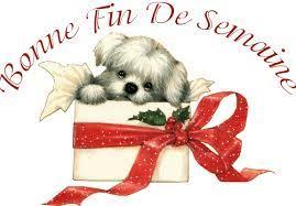 Bonne fin de semaine chien | La passion au bout des doigts, le NOUVEAU blog  !!!