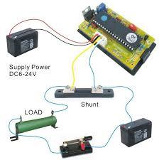 dc 9 99a 0 10a bidirectional current ammeter digital ammeter amp Sunpro Ammeter Wiring-Diagram at Amp Meter Shunt Wiring Diagram