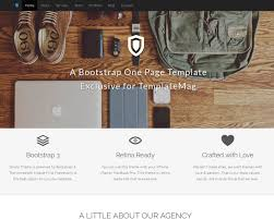 Best One Page Design 20 Best One Page Website Templates 2019 Templatemag