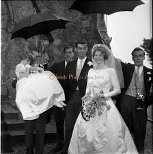 1963 - Wedding of Mr Michael Slazenger and Miss Noreen Smith at the  Presbyterian Church, Sandy - Images | Irish Photo Archive