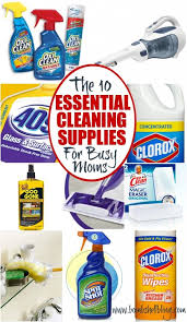 cleaning supplies list the 10 essential cleaning supplies for busy moms bombshell bling