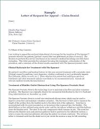 Medical Claim Appeal Letter Template Examples Cellarpaper Co