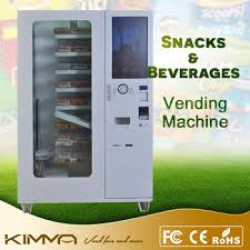High Tech Food Vending Machines Gorgeous High Tech Warm Food Vegetable Automatic Vending Machine With Lift