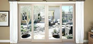 simonton sliding glass doors 4 panel french door series vinyl 4 panel sliding patio door with