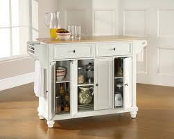 paper white paint colorFantastic Small White Kitchen Islands with Wooden Spice Rack and