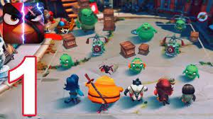 Angry Birds Evolution - Gameplay Walkthrough Part 1 - Chapter 1 (iOS,  Android) - YouTube
