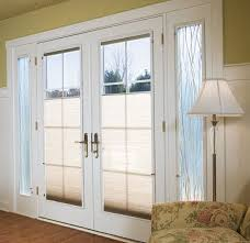 Attractive Sliding Patio Doors With Internal Blinds Designer Pella Windows With Built In Blinds