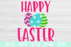 Vector graphics, however, are made up from paths and can thus be scaled bigger without the loss of quality. Happy Easter Svg Eggs Easter Svg Files Graphic By Tiffscraftycreations Creative Fabrica
