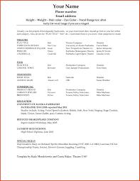 Microsoft Resume Templates 2013 Fascinating Ms Word Resume Template 100 On Resume Microsoft Word 4