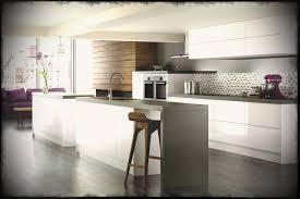 black and white tile floor kitchen. Light And Bright Black White Tiles Outofhome Kitchen Tile Floor