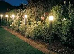 Designer Garden Lights Image Interesting Decorating Ideas